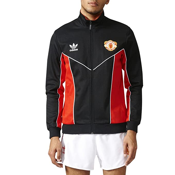 best service d929e a0205 adidas Originals Mens Manchester United '83-'84 Track Jacket