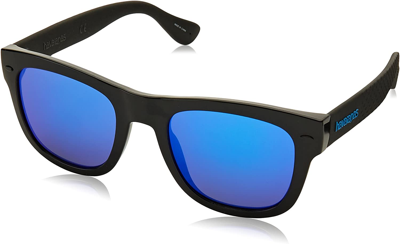 Havaianas PARATY/L Z0 QFU 52 Gafas de Sol, Negro (Black Blue), Hombre