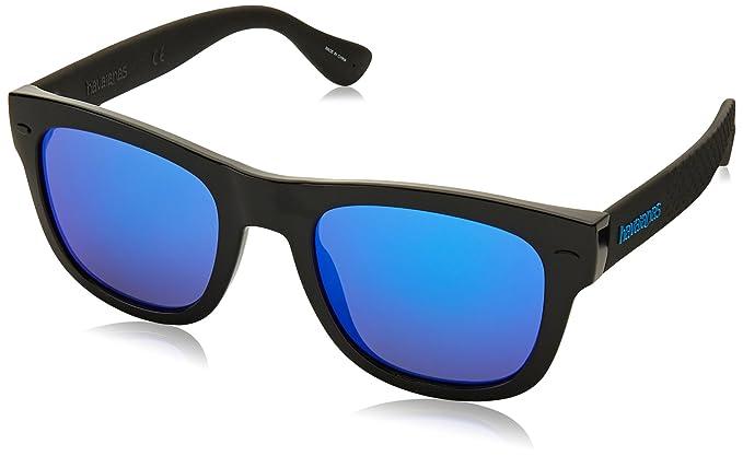 Havaianas PARATY/L Z0 QFU 52, Gafas de Sol para Hombre, Negro (