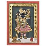 IndianShelf Handmade Paper Tanjore Sreenathji Painting Online
