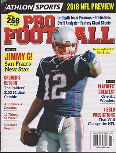 Athlon Sports Magazine 2018 NFL Preview