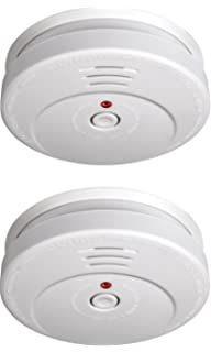 Smartwares RM149/2 Alarma de Humo, Blanco, Set de 2 Piezas