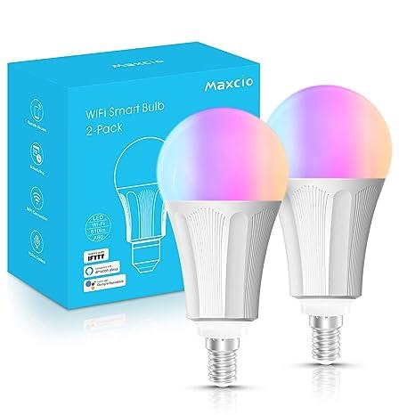 42 LED-Deckenventilator mit 3-farbigem Wechsellicht und Fernbedienung 4 Klingen-Deckenventilator Deckenventilator