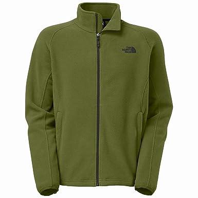 The North Face Khumbu II Fleece Jacket - Men's Scallion Green/Scallion Green,  ...