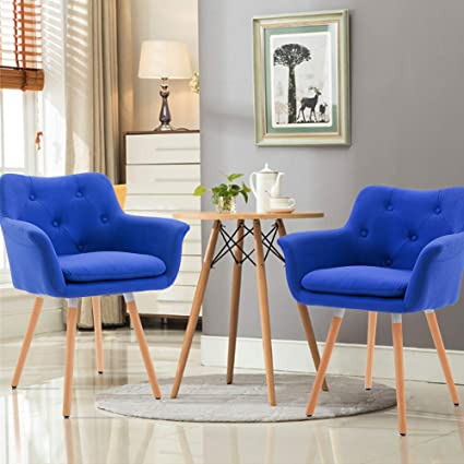 Marvelous Amazon Com Frivity Fabric Accent Arm Chair Mid Century Caraccident5 Cool Chair Designs And Ideas Caraccident5Info