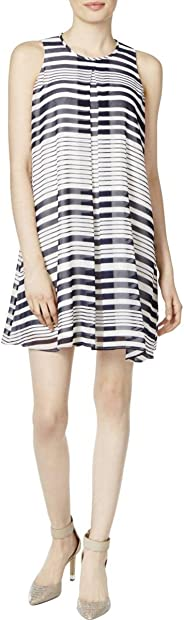Calvin Klein Vestido Plisado invertido. Vestido para Mujer
