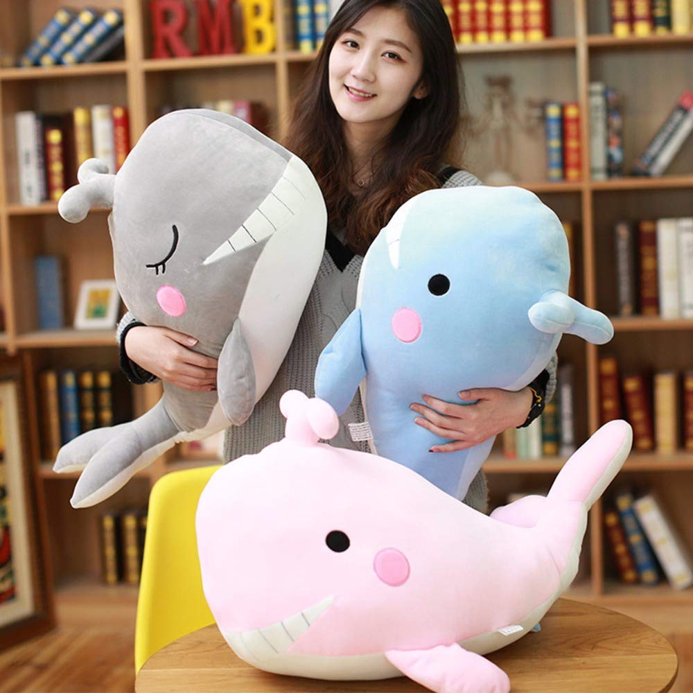 Amazon.com: Extoy - Peluche de ballena sonriente con manta ...