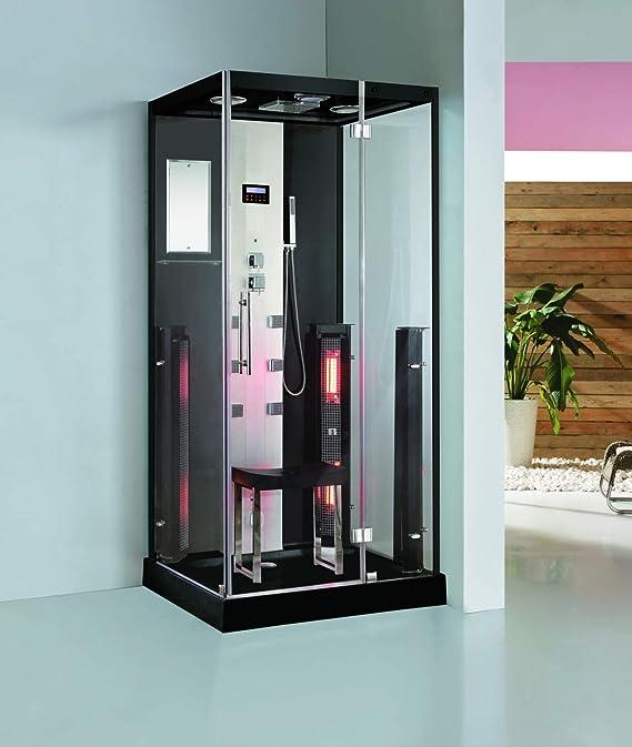 Trade-Line-Partner - Ducha de vapor (100 x 90 cm, con sauna ...