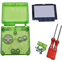 Xingsiyue Replacement Transparent Clear Full Housing Shell Case Repair Parts w/Lens&Screwdriver for Nintendo Gameboy…