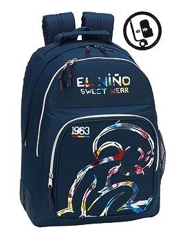 "Safta Mochila Escolar El Niño ""Splash"" Oficial 320x150x420mm"