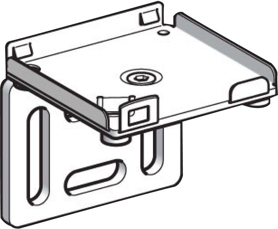 Schneider Electric XSZBJ90 Clip 90Deg Bracket, 90 Fix Bracket For Xs-J For Xs Form