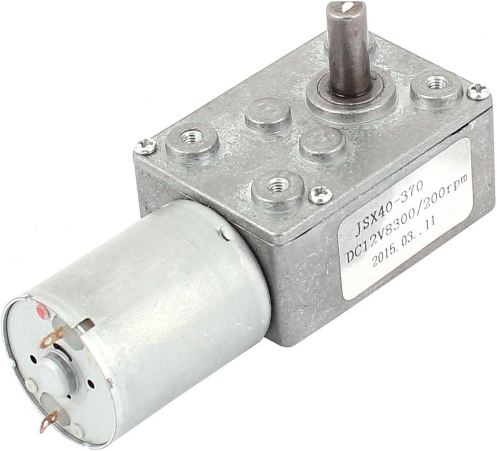 12V 200RPM Torque Gear Box Motor New