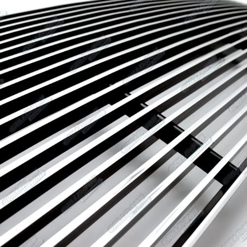 APS Compatible with 2005-2009 Mustang GT V8 Hood Scoop Billet Grille S18-A51066F