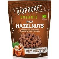 Biopocket - Avellanas ecológicas crudas, 600 g