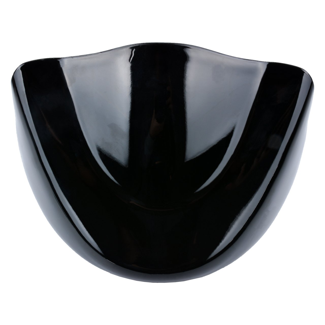 TUINCYN Moto universel Garde-boue Coque kit Noir mat menton avant Spoiler pour Harley Davidson Sportster 2004 2014/Xl883/Xl1200/2004 2015