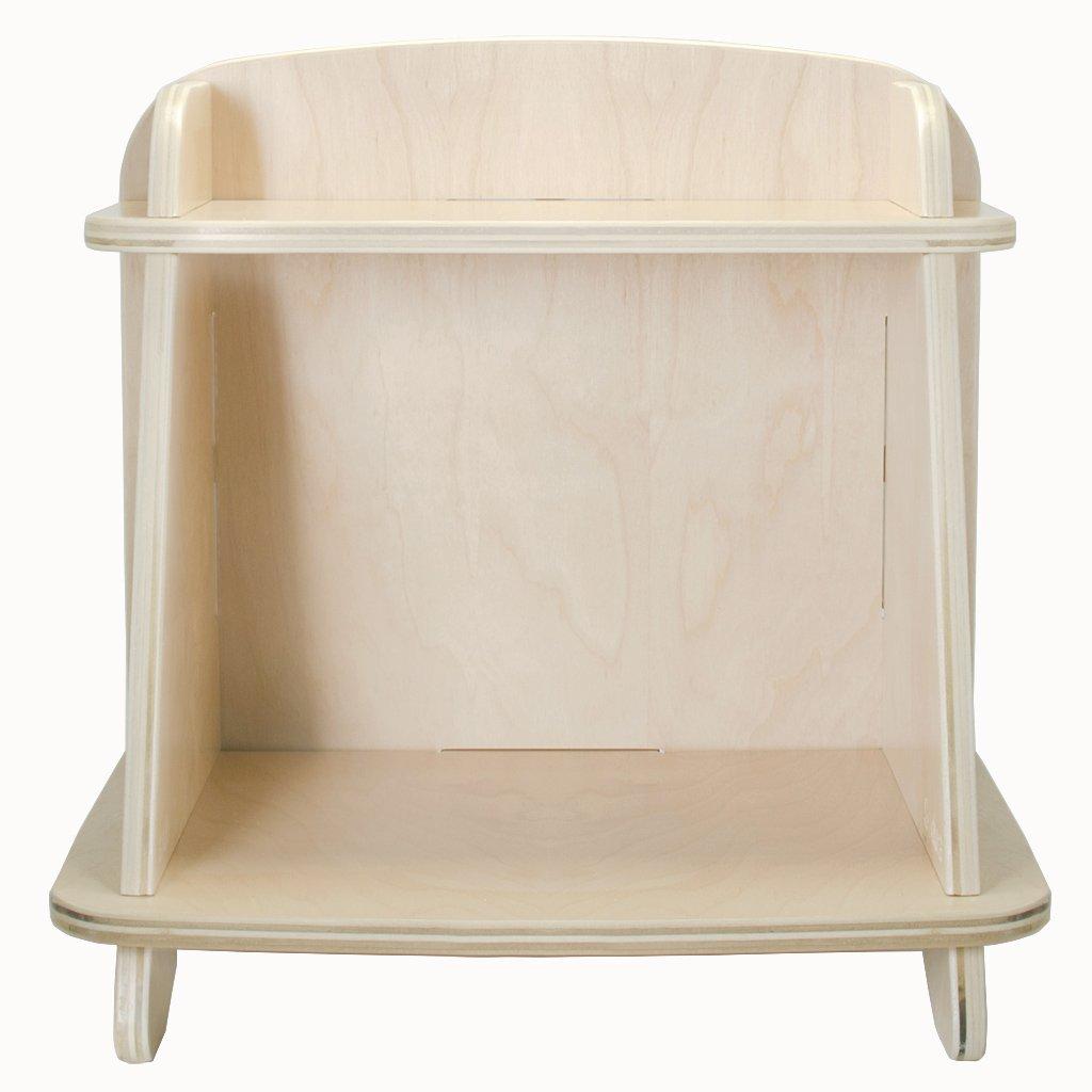 Blonde Aero Small Bookcase