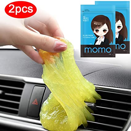 Multipurpose Magic Cleaner Paste, Soft Silica Keyboard Cleaner, Evaporator  Coil Compressed Air Duster, Quick Fix Synthetic Urine for Car A/C Vents,