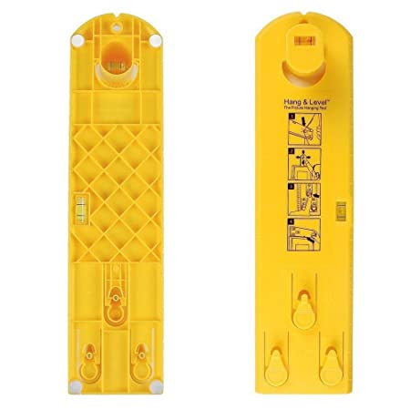 Sipudo Picture Hanging Tool Hang Level With Built In Levels For