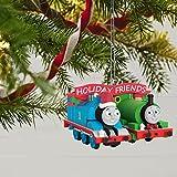 Hallmark Keepsake Christmas Ornament 2018 Year Dated, Thomas and Friends Thomas and Percy