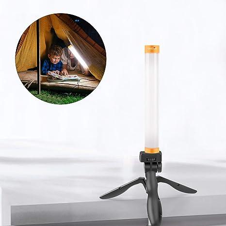 Amazon.com: Linterna, luz portátil recargable, luz LED para ...
