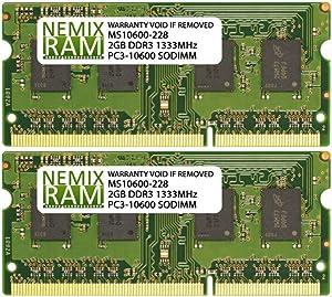 4GB 2X2GB NEMIX RAM Memory for Apple iMac Mid & Late 2011