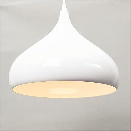 E27 Industrial colgante Lámpara colgante, Las luces del techo, Iluminación interior, Luz blanca cálida, 60W Cortinas de la lámpara Retro lámpara de ...