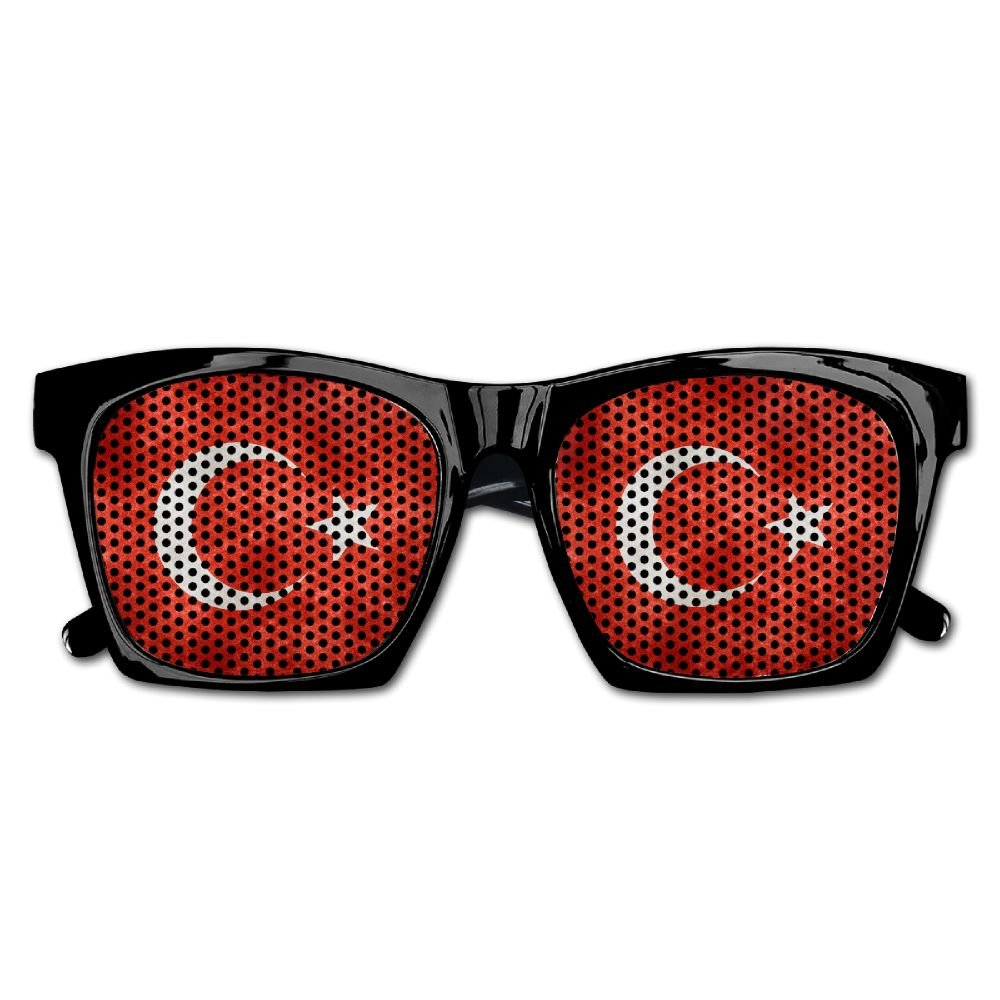 Xing Stars Colorful Summer Unisex Turkey Country Flag Fashion Party Costume Sunglasses