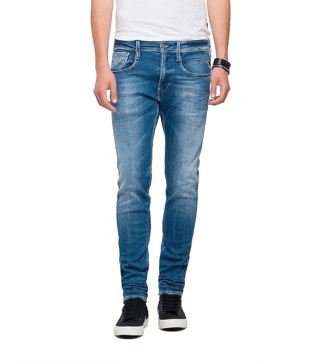 Replay Herren Slim Jeans Anbass Anbass Anbass B077K6D6L4 Jeanshosen Neue Sorten werden eingeführt 887177