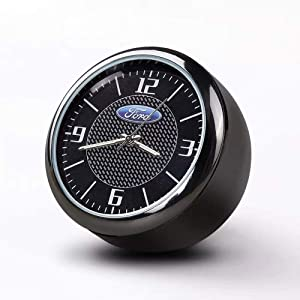 Fitracker Auto Mini Digital Watch Interior Car Quartz Clock Watch Digital Luminous Refit Decoration Ornaments