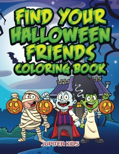 Find Your Halloween Friends Coloring (Find Costume)