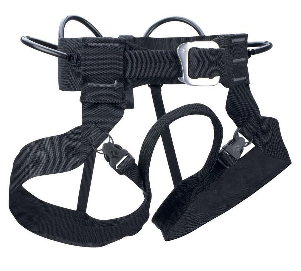 (X-Large, Black) - Black Diamond Bod Harness -   B07NF3ZBVJ