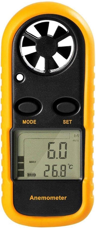 la temp/érature et le froid du vent TenYua Gm816 An/émom/ètre num/érique de poche avec /écran LCD pour mesurer la vitesse du vent