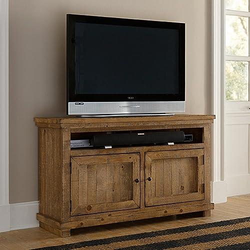 Progressive Furniture Willow Distressed Black 54 Console