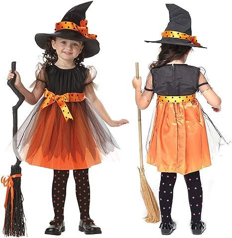 WEIHUIMEI 1 Juego de Disfraz de Bruja para Halloween y Disfraz de ...