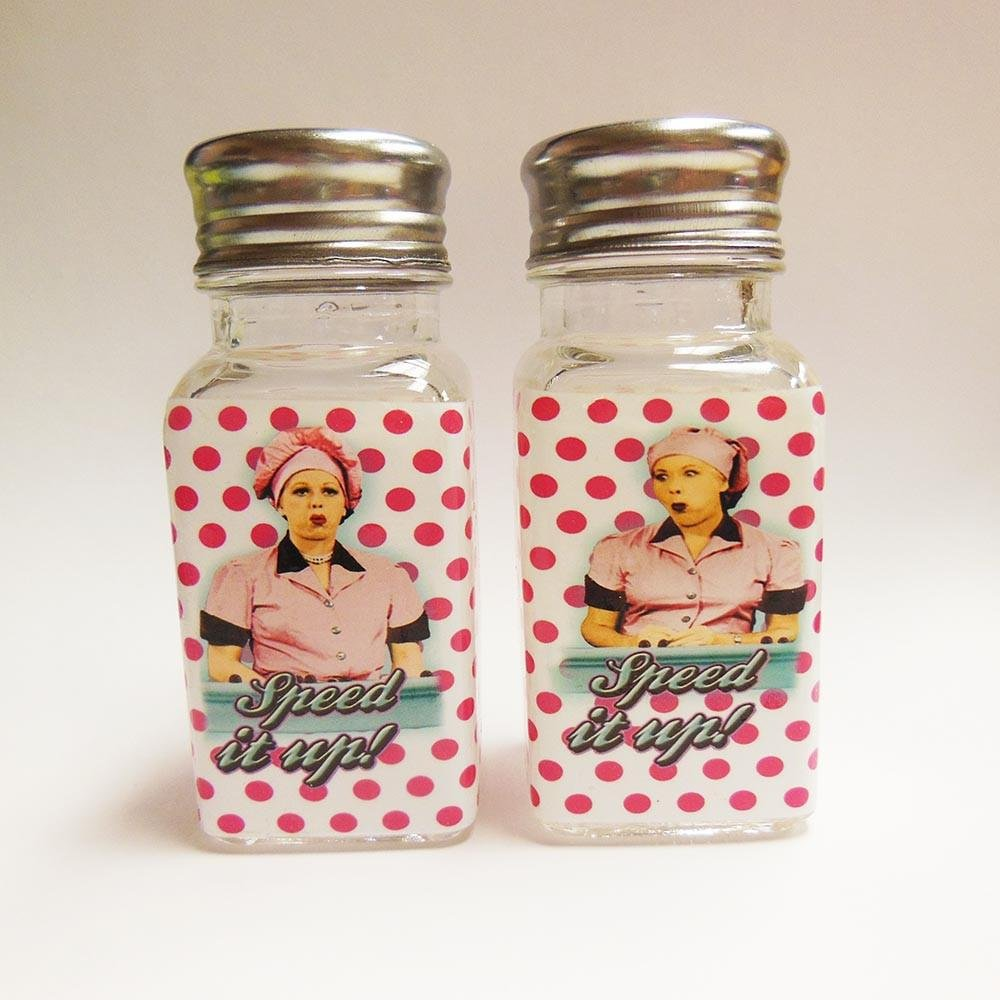 I Love Lucy Salt & Pepper Chocolate Polka Dots