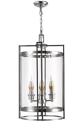 Amazon.com: Ola Living Metal y lámpara de araña de diseño ...
