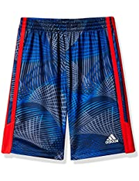 Little Boys' Athletic Short, Blue with Red, Blue with Red