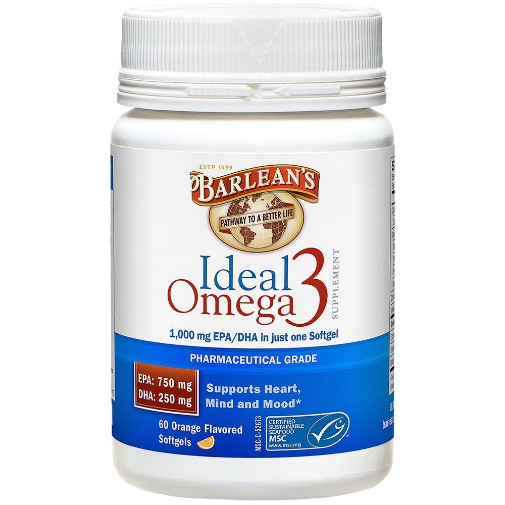 3 PACK: Ideal Omega3 - Softgels - 60 ct.