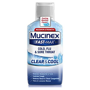 Amazoncom Mucinex Fast Max Clear Cool Cold Flu Sore Throat