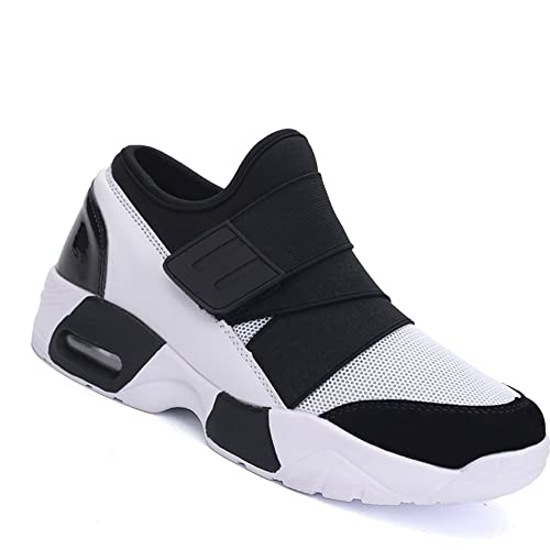 achat original check-out nouveaux prix plus bas Rosegal Basket Homme Mixtes Adultes Chaussure air de Sport Multisport  Running Fitness Gym Compétition Entraînement Baskets Respirant sans Lacet  Chic ...