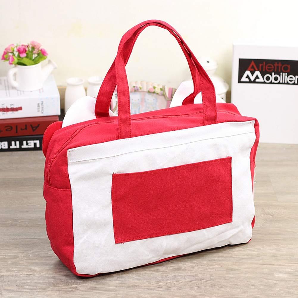 Hello Kitty YOURNELO Girls Pretty Hello Kitty Excursion Handbag Shoulder Tote Travel Bag Luggage Bag