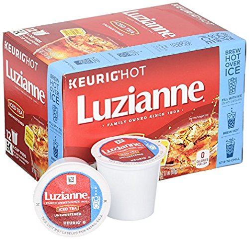 Luzianne Unsweetened Single Serve Count product image