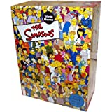 : Cardinal Industries Simpsons Trivia in a Box Board Game