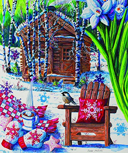 Mountain Cabin Fever 550 Piece Jigsaw Puzzle by SunsOut