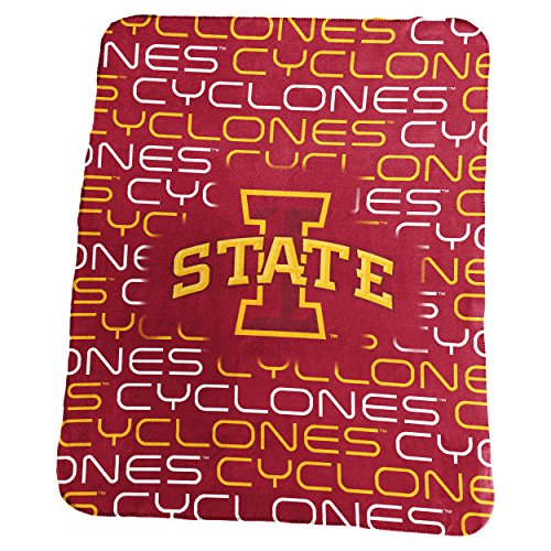 NCAA Iowa State Cyclones Classic Fleece, One Size, Cardinal