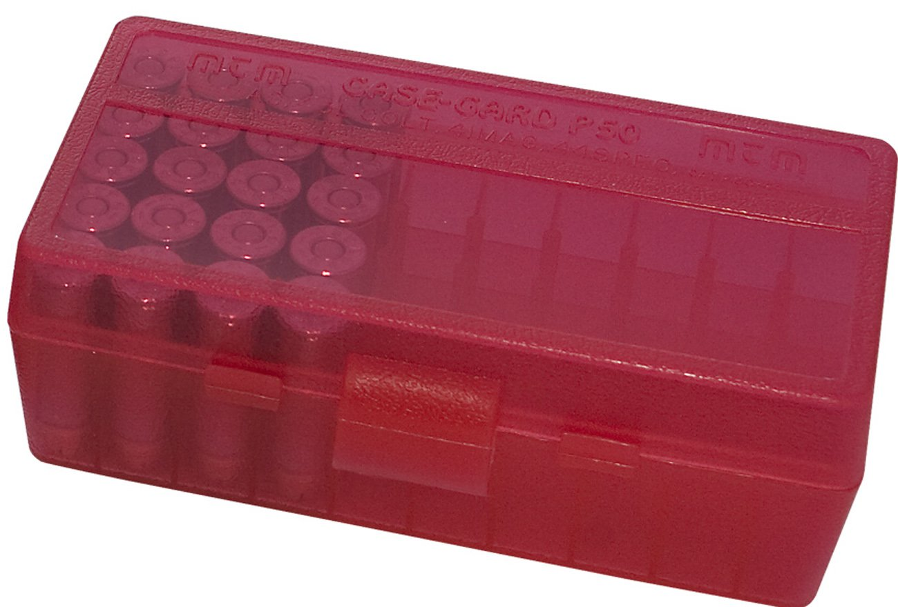 MTM 380//9/mm CAL 50/redondo abatible Caja para munici/ón