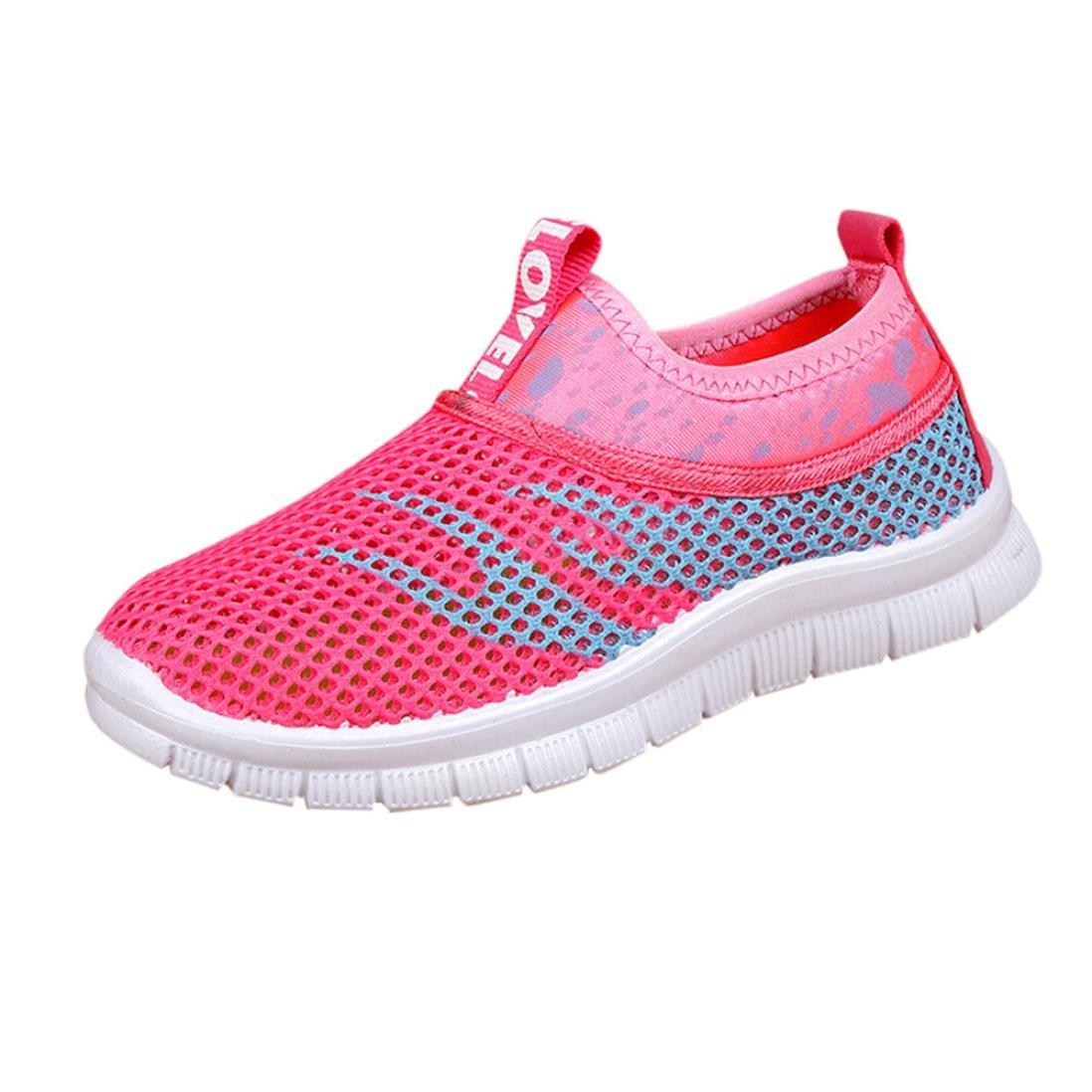 31bd275694265 Amazon.com: Moonper Children Kids Boy Girl Sport Sneakers Casual ...