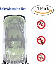 Baby Mosquito Net for baby Strollers, Carriers, Car Seats, Cradles, Pack'n'Plays, Cribs,Bassinets & Playpens. High Density Baby Insect Netting Elastic & Breathable By Sportsvoutdoors