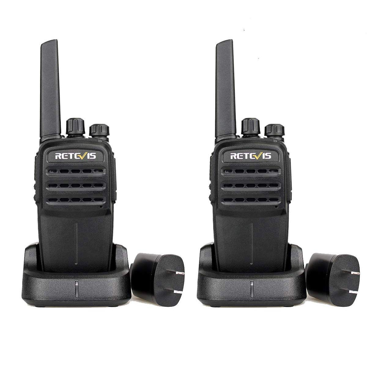 1 Pair FA9128AX2-J0013A Retevis RT40 Walkie Talkies 48 Channel Two-Way Radio Digital Analog Group Call 1700mAh Li-on Rechargeable Battery with USB Charger