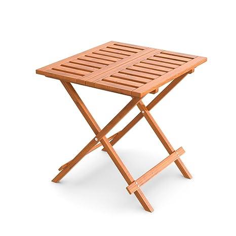 Tavolo Piccolo Da Giardino.Ampel 24 Tavolino Pieghevole Da Giardino Balcone E